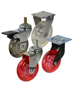 Cool Casters #50 Translucent Wheel Series