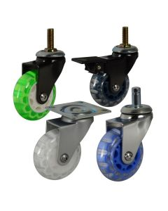 Cool Casters #100 Translucent Skate Wheel Series